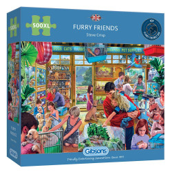 Furry Friends 500XL Piece Jigsaw