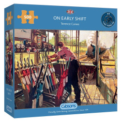 On The Early Shift 500 Piece Jigsaw Puzzle