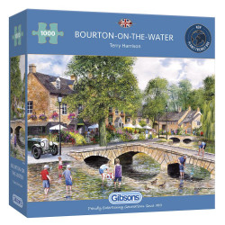 Bourton On Water 1000 Piece Jigsaw Puzzle