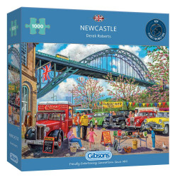 Newcastle 1000 Piece Jigsaw Puzzle