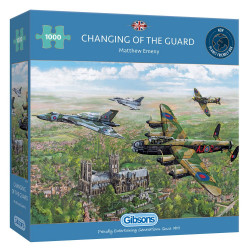 Changing Of The Guard 1000 Piece Puzzle