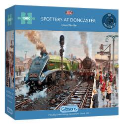 Spotters At Doncaster 1000 Piece Puzzle