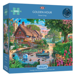 Golden Hour 1000 Piece Puzzle