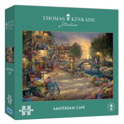 Amsterdam Cafe Thomas Kinkade 1000 Pieces