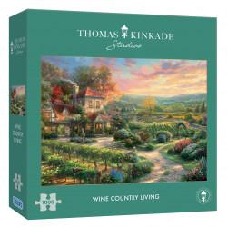 Wine Country Living 1000 Pieces Thomas Kinkade