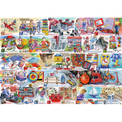 Space Hoppers & Scooters 1000 Piece Puzzle