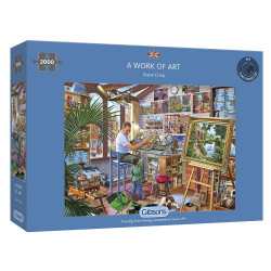 A Work Of Art 2000 Piece Jjigsaw Puzzle