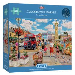 Clocktower Market 1000 Piece Jigsaw Puzzle