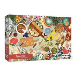 Gibsons Dream Picnic 636 Piece Jigsaw Puzzle